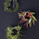 Nice Stems: DIY Mini Holiday Wreaths