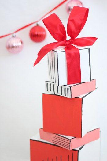 DIY Book Inspired Gift Wrap