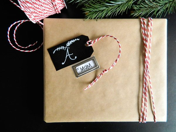 DIY Kraft and Twine Gift Wrap