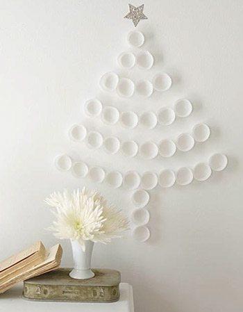 DIY Cupcake Liner Tree