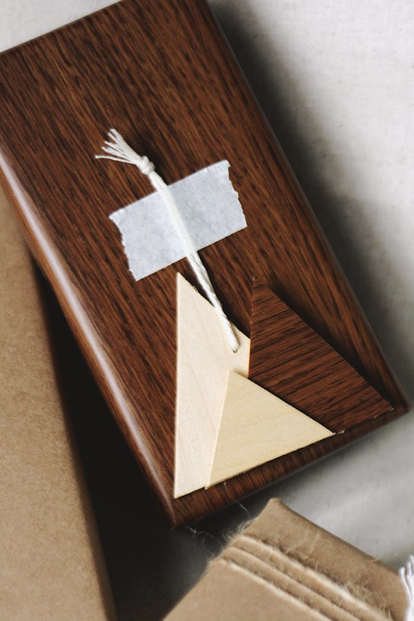 Diy Wooden Gift Tags The Sweetest Occasion