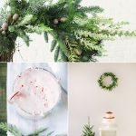 Color Palette: Cranberry + Pine