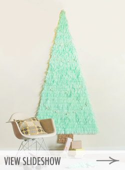 10 Best DIY Faux Christmas Trees