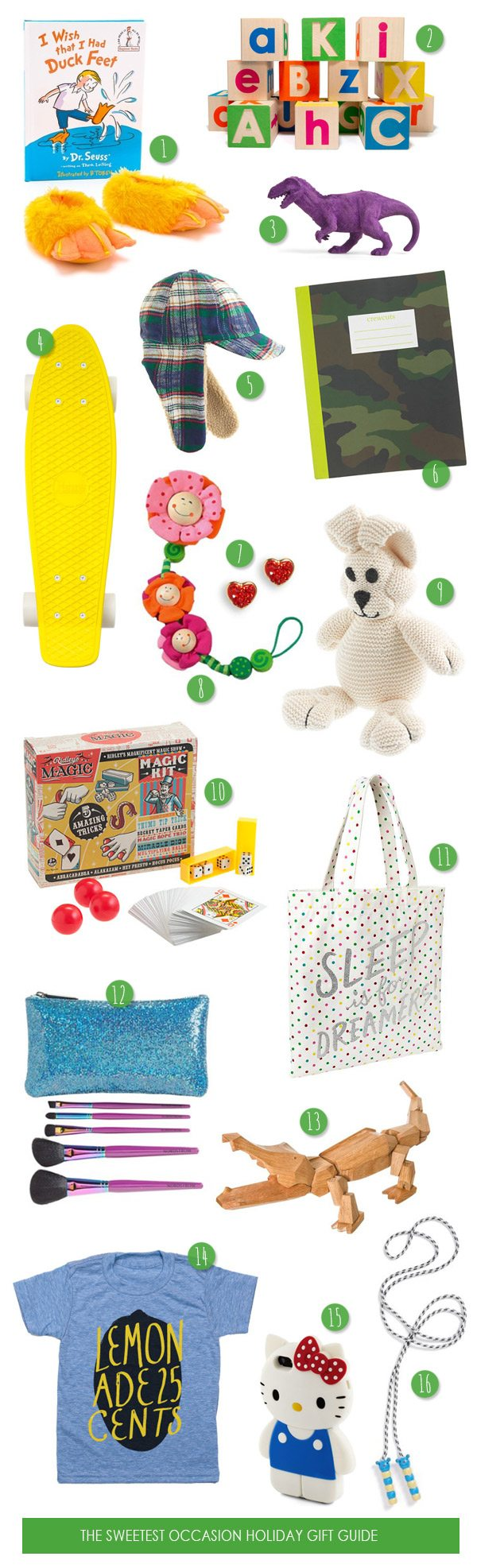 The Gift Guide - Gifts for Kids and Teens