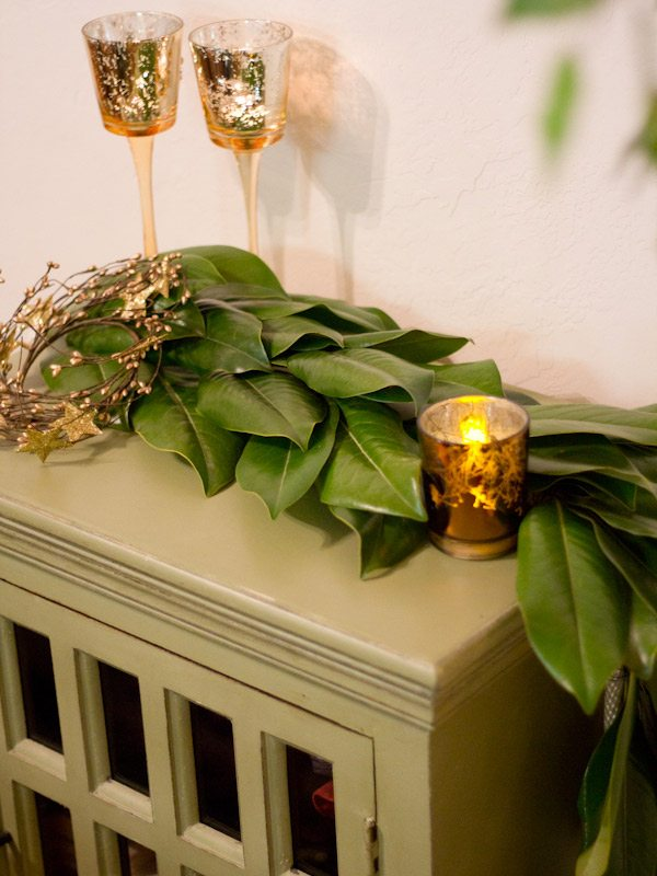 Diy Magnolia Leaf Garland The Sweetest Occasion