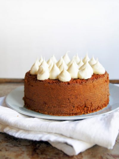 Banana Cake with Honey Cream Frosting thumbnail