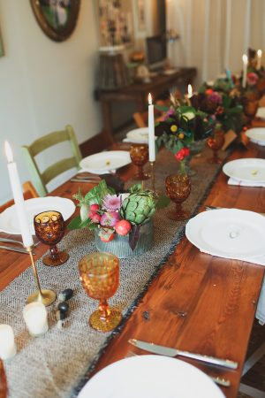 A Rustic Farm Dinner with Friends