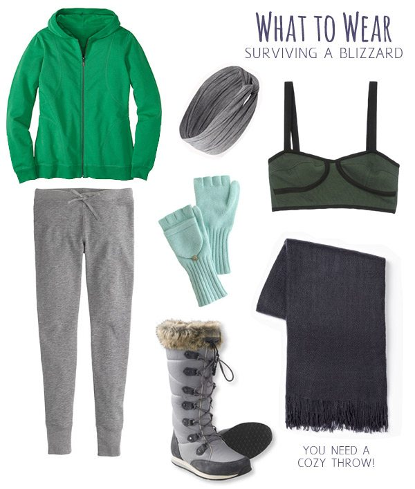 What to Wear in a Blizzard
