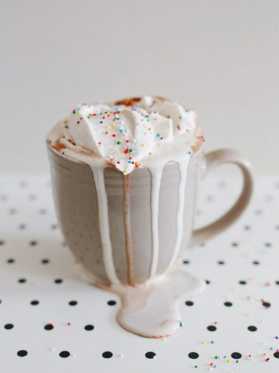 Nutella Hot Chocolate with Cinnamon Whipped Cream thumbnail