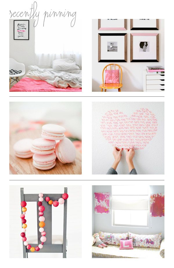 Recently Pinning: Bright and Springy
