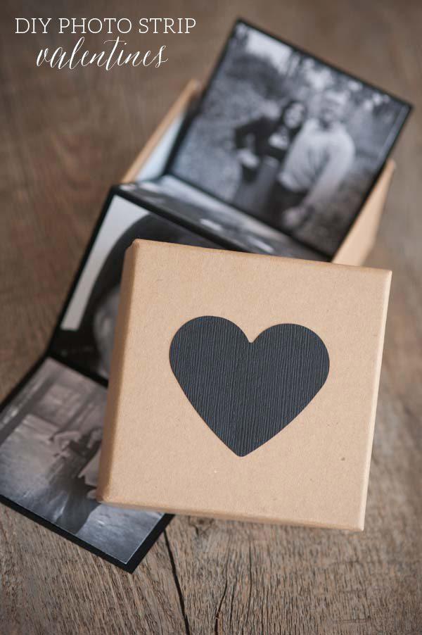 DIY Photo Strip Valentines
