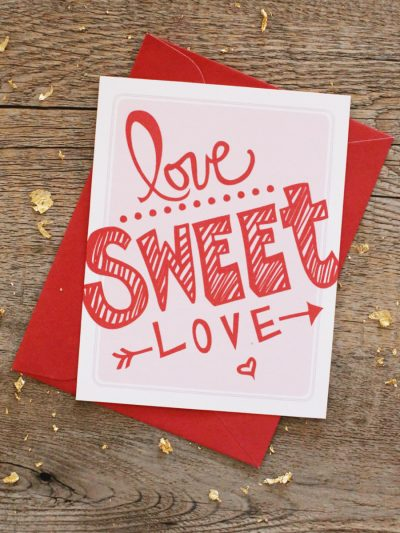 Love Sweet Love – Valentine's Day Printables thumbnail