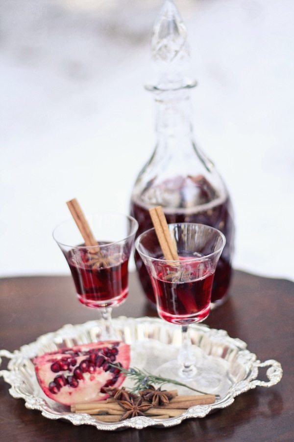 Pomegranate Mulled Wine - The Sweetest Occasion — The ...