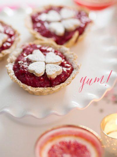 Raspberry Rose Tarts thumbnail