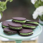 St. Patrick's Day Chocolate Mint Cookies