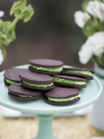 St. Patrick's Day Chocolate Mint Cookies thumbnail