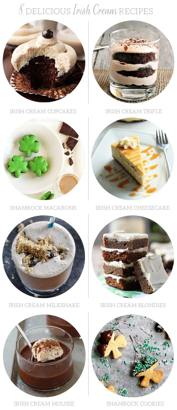 8 Delicious Irish Cream Recipes | The Sweetest Occasion