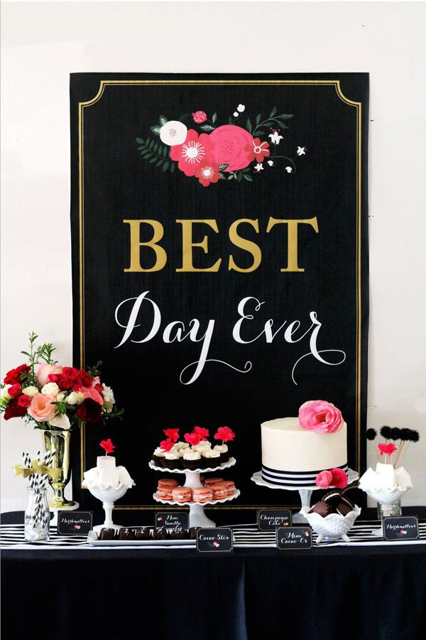 Best Day Ever - Bridal Shower Inspiration