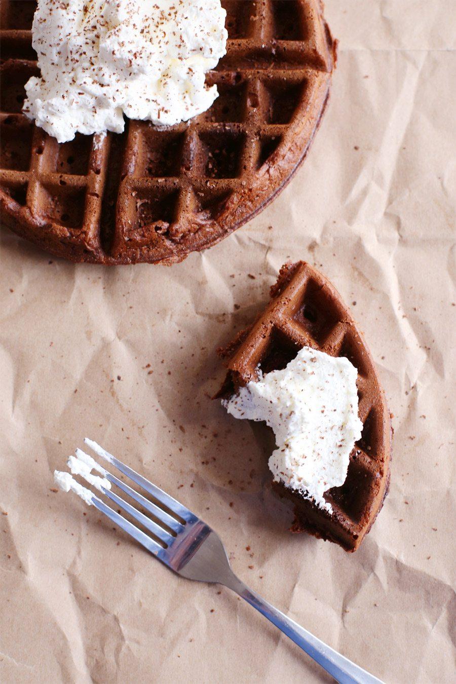 how to make a waffle cake