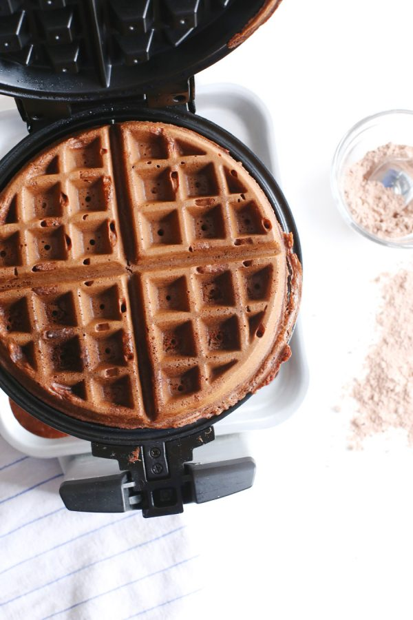 From the Kitchen: Chocolate Cake Waffles