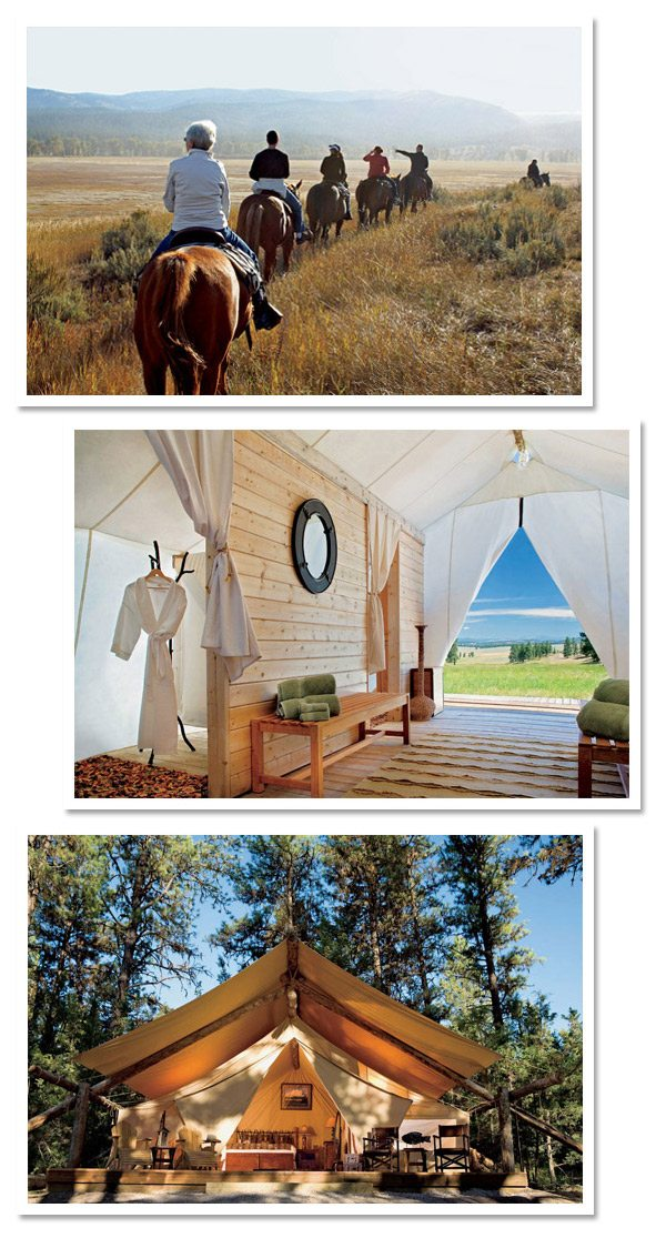 Glamping at Paws Up | The Sweetest Occasion