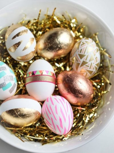 Three Pretty DIY Easter Eggs + Friday Link Love thumbnail