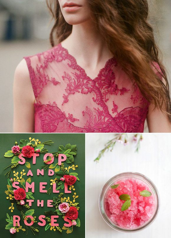 Color Palette: Rose and Emerald