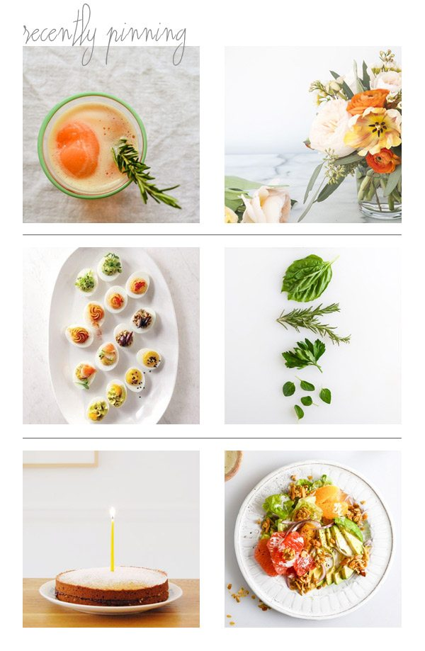 Recently Pinning: Sweet and Citrus