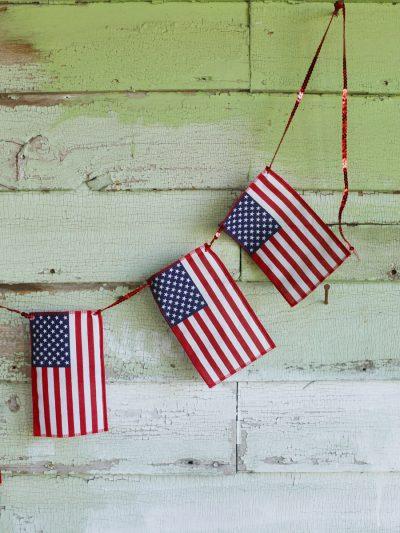 DIY American Flag Bunting thumbnail