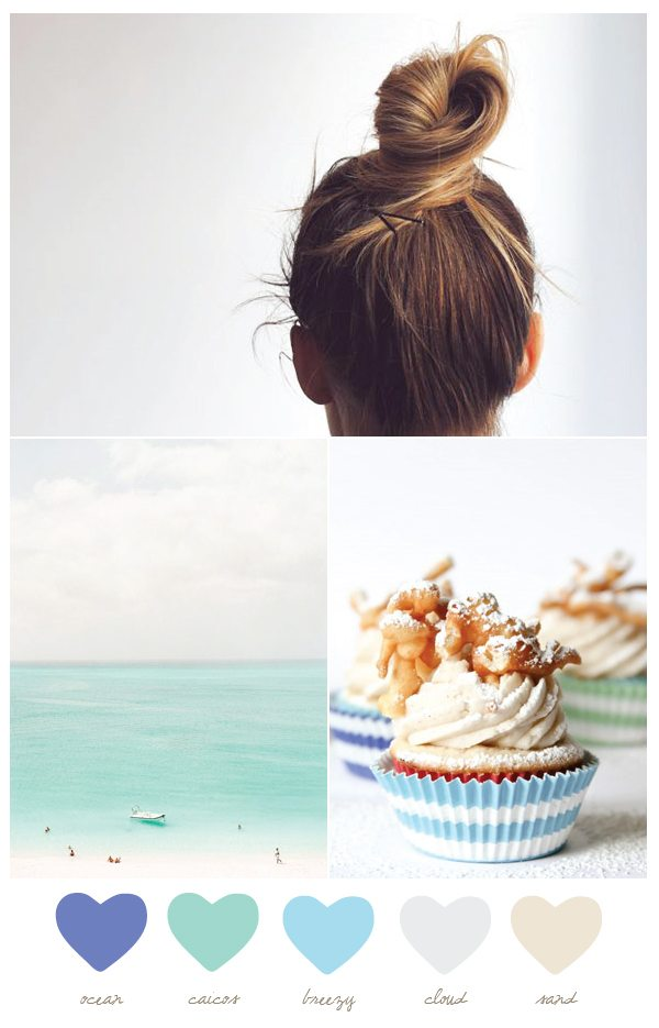 Color Palette: Ocean and Caicos