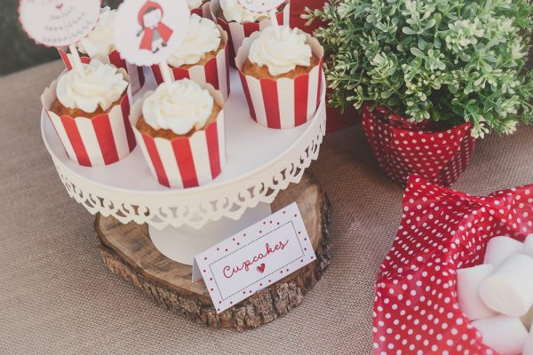 A Little Red Riding Hood Birthday Party