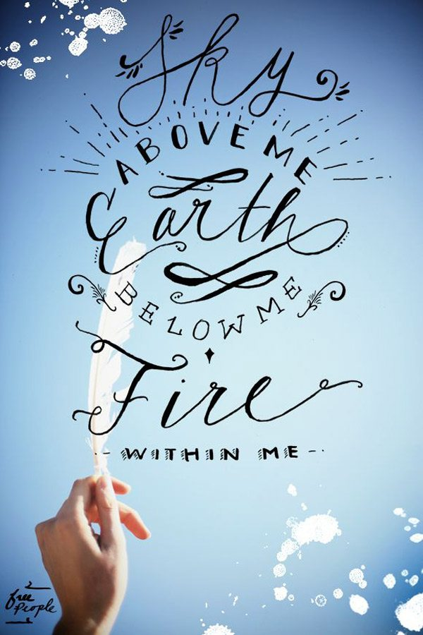 Fire Within Me.