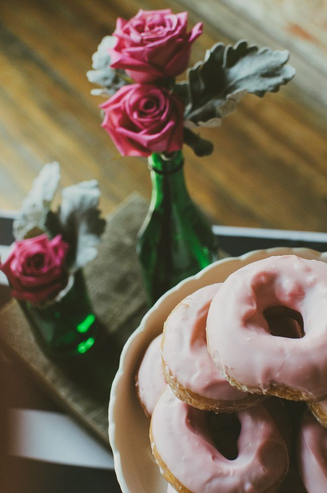 A Coffee and Donuts Bridal Shower | Get bridal shower ideas, entertaining tips and more from @cydconverse!