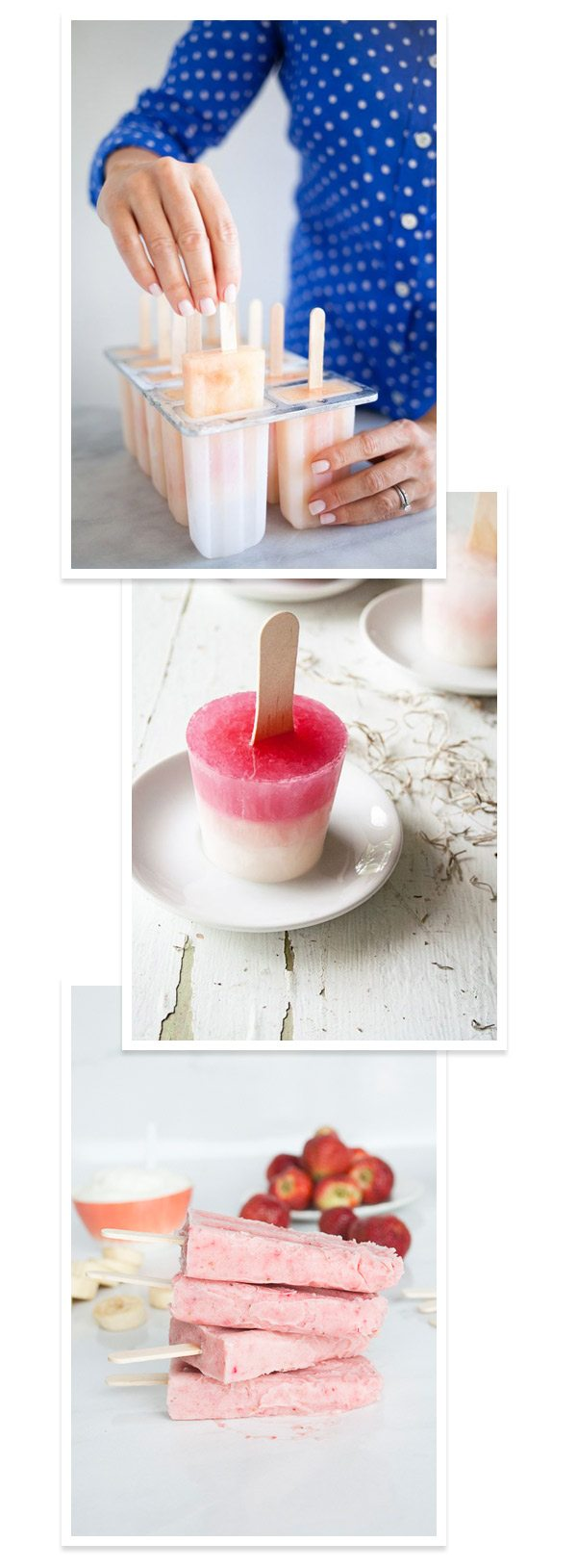 3 Summer Popsicle Recipes