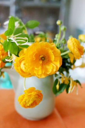 Ranunculus Centerpiece