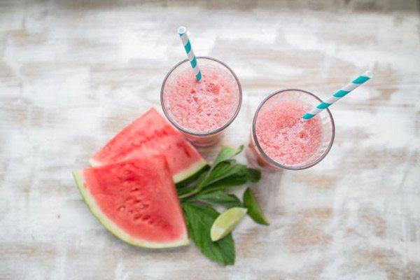 Watermelon Cucumber Slush
