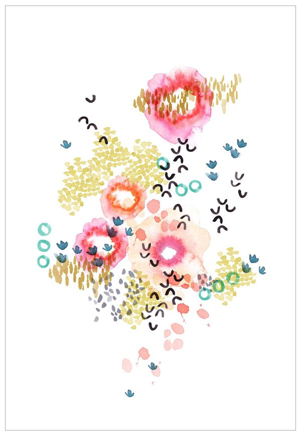 Garden Print by Kelly Ventura