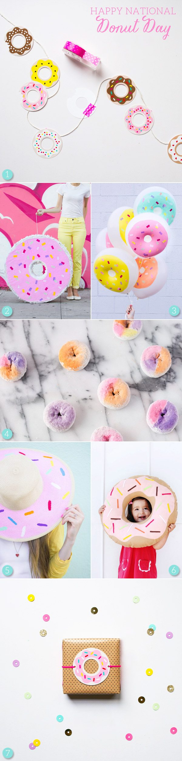 Diy Donut Crafts For National Donut Day The Sweetest Occasion