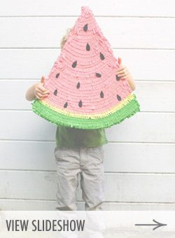 10 Summery Watermelon DIY Ideas