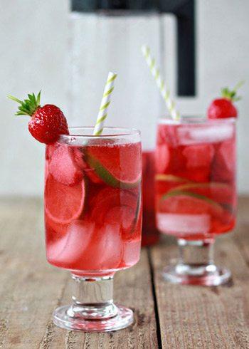 Strawberry Lime Sangria