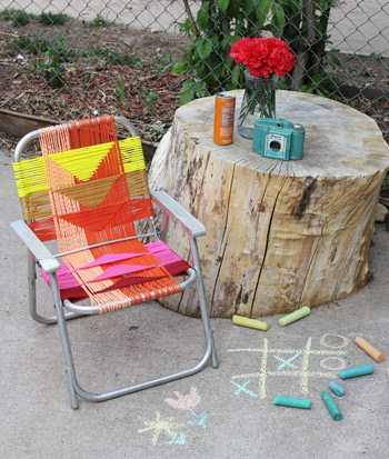 DIY Lawn Chair Makeover