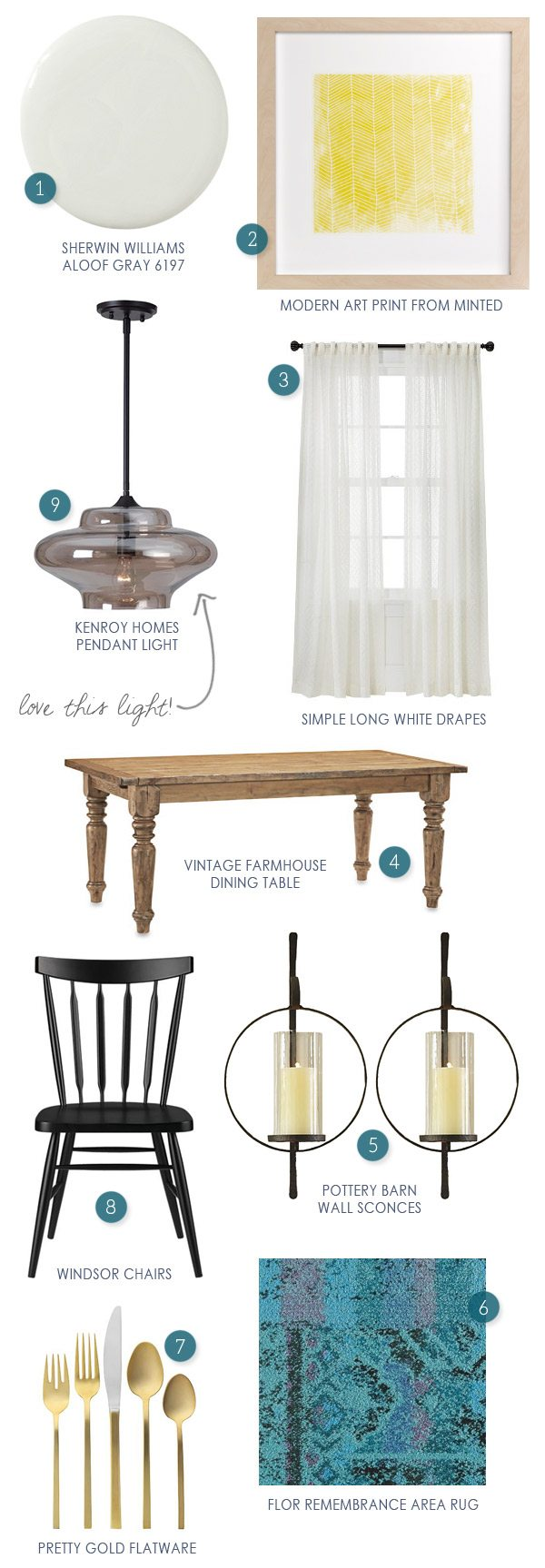 Dining Room Makeover Inspiration from @cydconverse