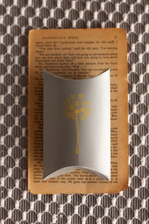 Gray and Yellow Favors