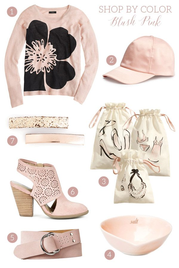 Shop by Color: Blush Pink Accessories