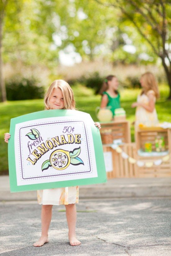 Summer Lemonade Stand Printables - The Sweetest Occasion