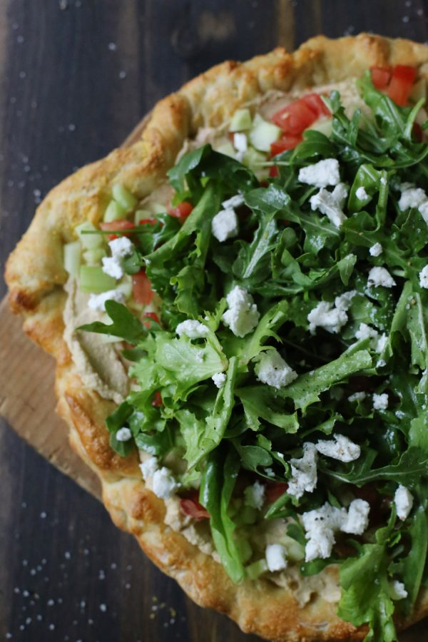 Grilled Pizza Salads | #ArtOfCheese