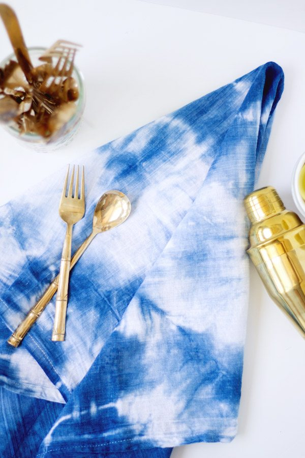 DIY Indigo Kitchen Towels