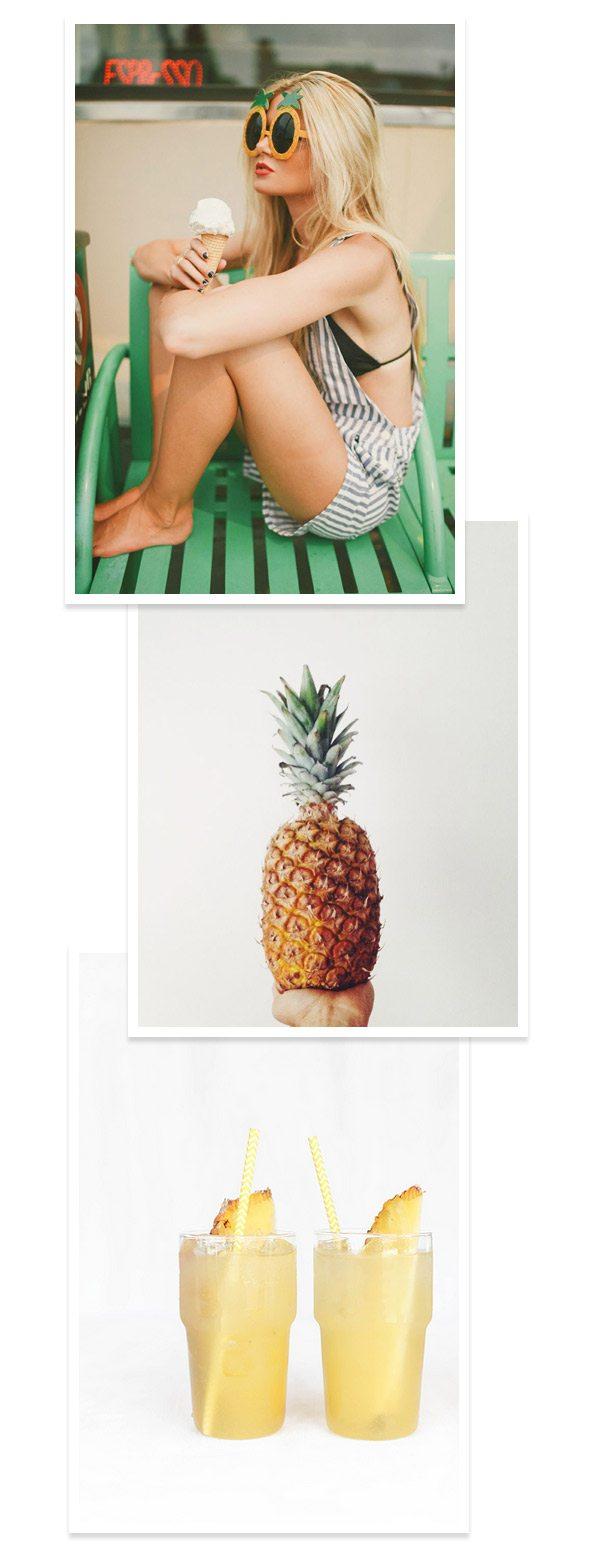 Three Summery Pineapple Things
