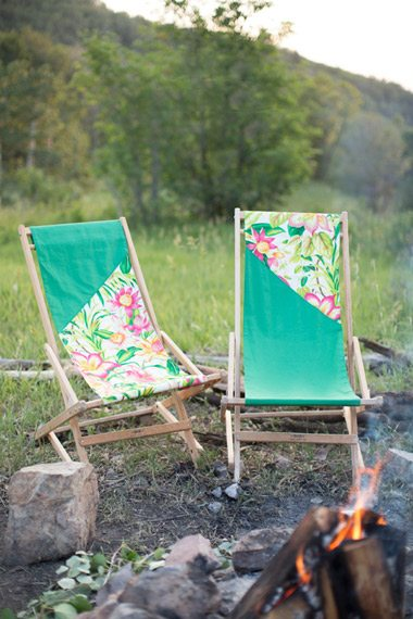 DIY Camp Chair Cover