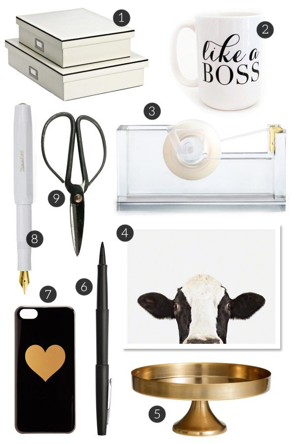 Pretty Back to School Supplies for Grown Ups from @cydconverse